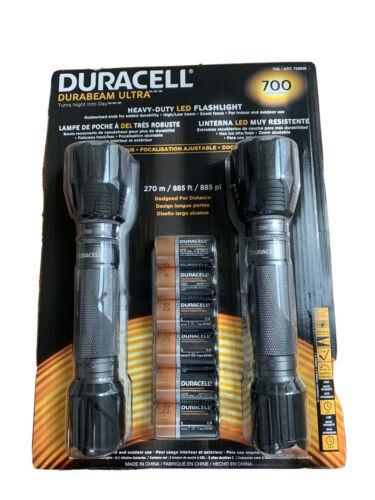 Duracell Durabeam Ultra 700 Lumens Flashlight, 2 Pack