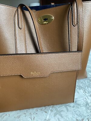 Mulberry Bayswater Brown Large Tote/ Excellent Condition
