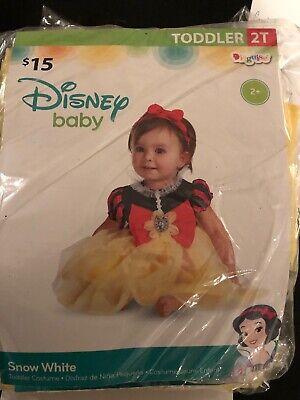 Snow Girl Halloween Costume (Halloween Costume Girl Toddler Disney Snow White 2T)