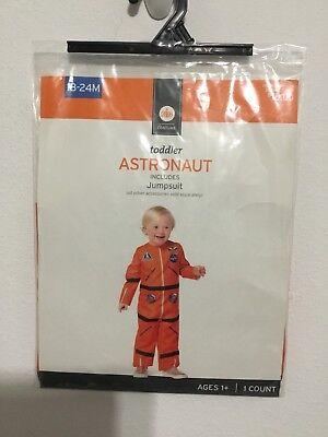 Orange Astronaut Baby Halloween Costume Deluxe Size 18-24 Months New - Baby Astronaut Halloween Costume