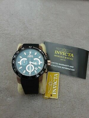 invicta quartz speciality  17775 chronograph mens watch