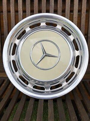 Radzierblende Mercedes chrom/beige W107 W114 W116 W123 gebraucht kaufen  Leverkusen