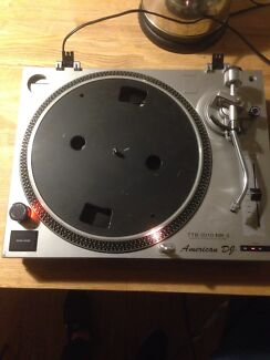 American-DJ belt drive turntable Northcote Darebin Area Preview