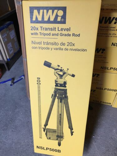Northwest Instrument Transit Level NSLP500B Package
