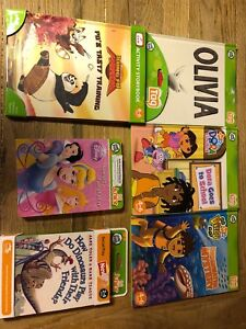 Leap frog Tag and Tag Jr books