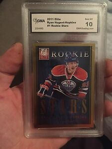 2011 elite rookie card, graded a 10 gem MT