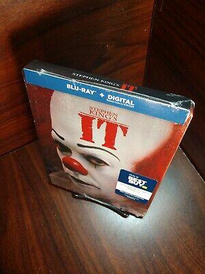 Stephen King's IT 1990 Steelbook (Blu-ray-No Digital) Disc Unused-Box SHIPPING