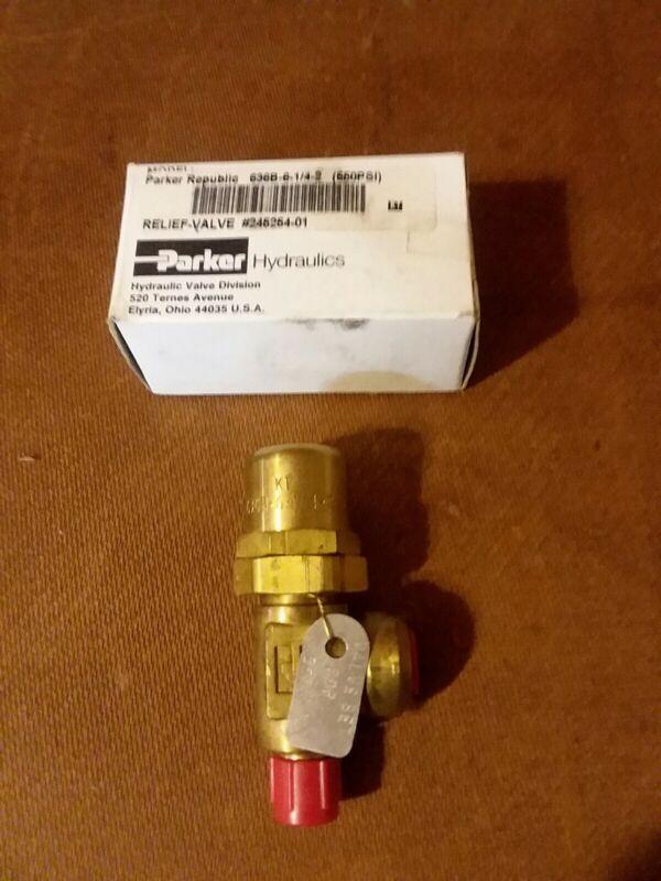 Parker Republic 636B-6-1/4-2 relief valve