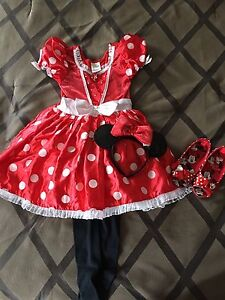 Disney Store Minnie Mouse Costume