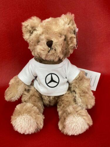 Chelsea Honey Bear Mercedes Benz Blonde 11 inch Plush Bear Authentic Mercedes