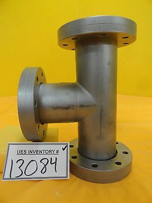 Edwards High Vacuum Tee Dn63cf Rotatable Dn63cf Non-rotatable Used Working