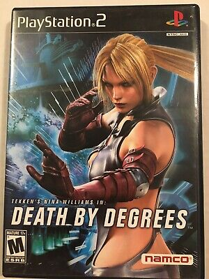 Death by Degrees Playstation 2 PS2 Complete Nina Williams & Tekken 5 Demo - MINT