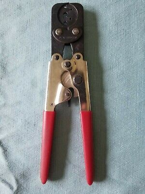Packard Electric 12085270 Ratcheting Hand Crimper Tool Weatherpack Delphi