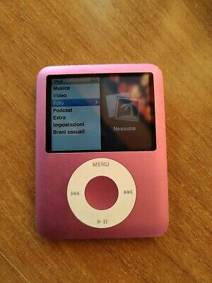 Ipod Nano 3rd Gen 8 Gb Pink Rosa Very Good