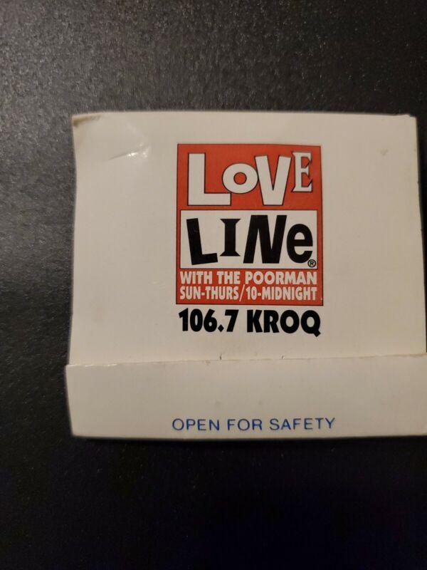 KROQ Loveline Condom with the Poorman! RARE