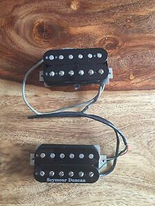 Seymour Duncan SH-4 and  Duncan 59 pick up