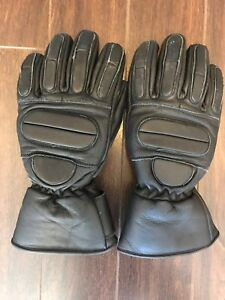 Leather motorcycle/ATV/snowmobile gloves Unisex XS