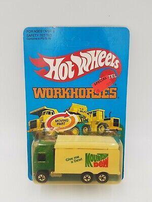 Hot Wheels WORKHORSES Hi Way Hauler No.1174 ©1983 - UNPUNCHED - Vintage! NOS!!