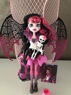 Monster High Draculaura Kostümparty Ghouls Rule wie NEU - Monster High Ghouls