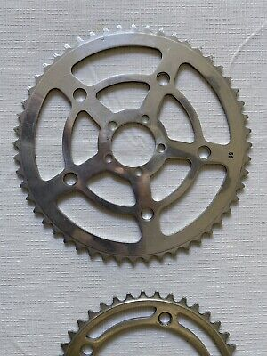 """Axis of cycling crankset vintage marked /""""m/"""" motobecane new old stock nos"""