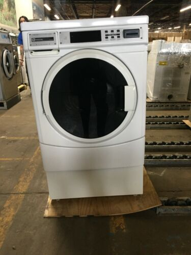 MHN30PR Maytag Card Operated Front Load Washer, Used