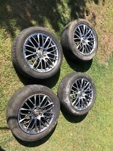 BBS wheels 17x7 114.3x5