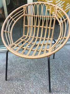 Cane Rattan Outdoor Chair Target