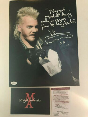 KIEFER SUTHERLAND AUTOGRAPHED SIGNED 11x14 PHOTO! 24! THE LOST BOYS! JSA!