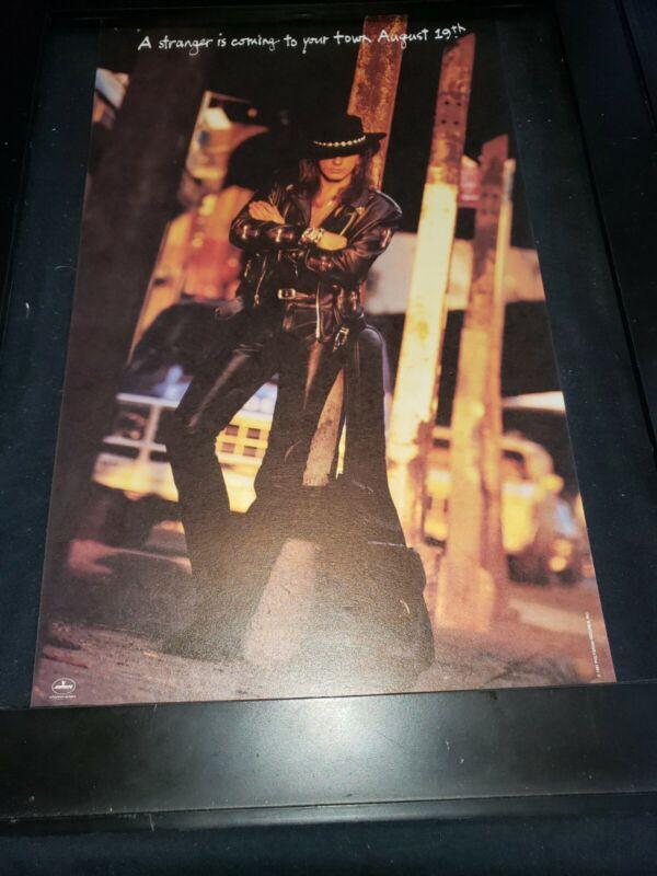 Richie Sambora Ballad Of Youth Rare Original Radio Promo Poster Ad Framed! #2
