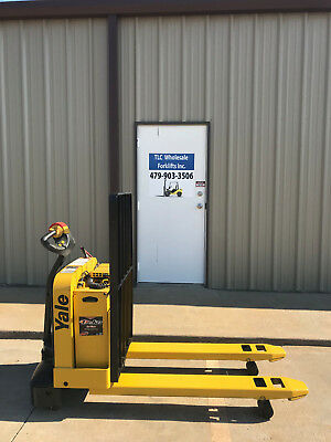 2008 Yale Electric Pallet Jack - Model Mpw050 Forklift - Walkie Only 1790 Hours