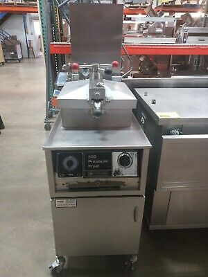 Used Henny Penny 500 Commercial Electric Pressure Fryer 3 Phase