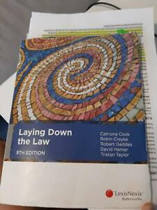 Laying down the law 9th edition 2015