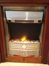Free standing plug in fire place Killara Ku-ring-gai Area Preview