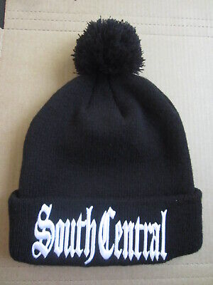 South Central LA Los Angeles California Black Beanie Stocking Hat Cap Gangster ](Gangster Beanies)