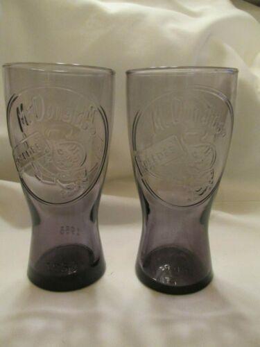 1995 McDonalds Speedee Drinking Glasses