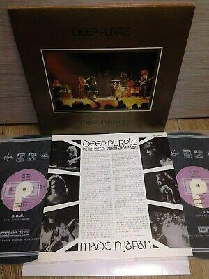 Deep Purple - Made In Japan 1990 Korea 2 LP Vinyl G.F Insert Ritchie Blackmore