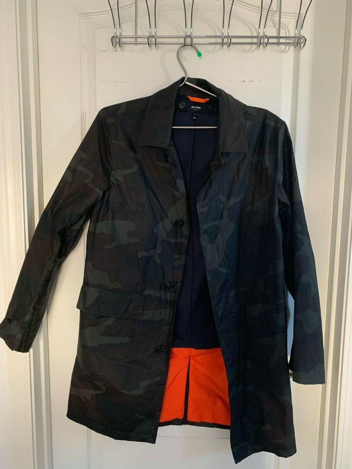 Jack Spade Wax Cotton Raincoat / Car coat size S Imported wi