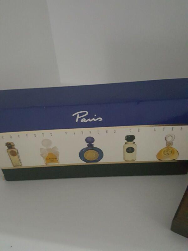 Paris Coffret Parfums De Luxe -Wood Box