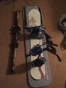 Ski and snowboard gear!