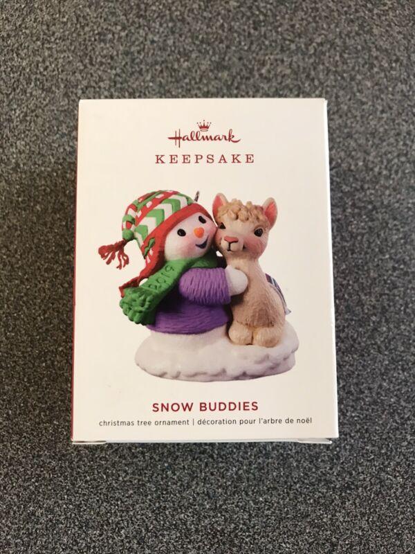 Hallmark 2019 Snow Buddies Keepsake Ornament Llama 22nd in Series