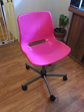 Pink ikea swivel chair Heathridge Joondalup Area Preview