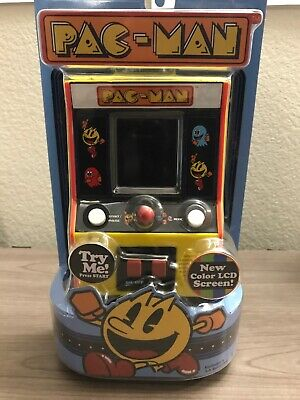 Pac-man Retro Mini Arcade Handheld Game Classic Play **NEW AND FACTORY SEALED**