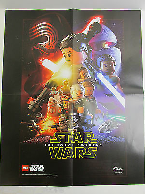 Lego Toys Toys & Games LARGE star wars LEGO POSTER ATTACK OF THE ...
