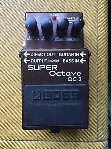 Boss Octave 0C-3 Effect Pedal Erskineville Inner Sydney Preview