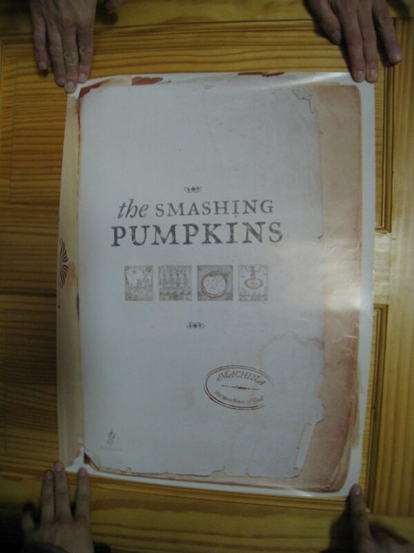 Smashing Pumpkins Poster The Machina