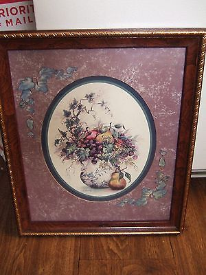 Home Interior Picture of Teapot with fruit & berries & lea by F Buckley (Reduced