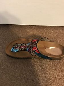 Denver Hayes Sandals  - Size 8