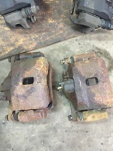 Honda Civic calipers with new pads