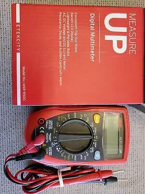 Etekcity Msr-r500igital Multimeter Amp Volt Ohm Voltage Tester Meter With Diode