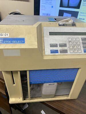 Ysi 2700 Select Biochemistry Analyzer For Parts It Powers On